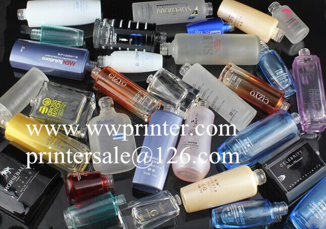 China screen printer for perfume bottle printing
