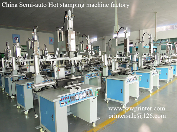 Manual Hot stamping machine from China factory