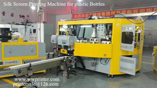 Bottle Silk Screen Printing Machine tooling Change