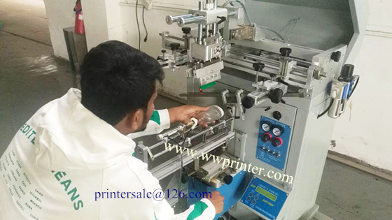 customer learn the machine in our factory