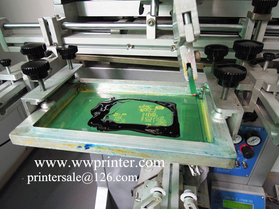 Silk Screen Printer for Plastic and glass Container