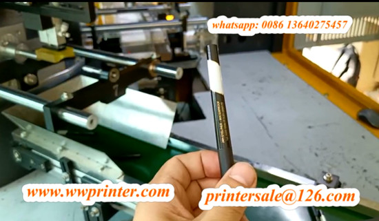 eyebrow pencil screen printing with hot stamping