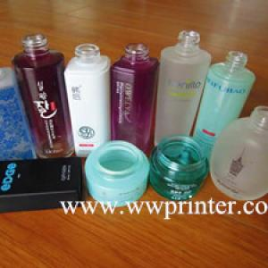 What Kind of Automatic Printing Machine can print the Perfume Bottle Well?