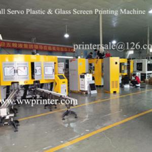 Sending 5 Color CNC plastic Bottle Screen Printing Machine to Europe customer