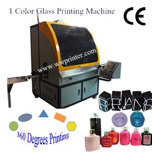 Automatic Glass Vial/Ampoule/Nail Polish Bottle Screen Printer