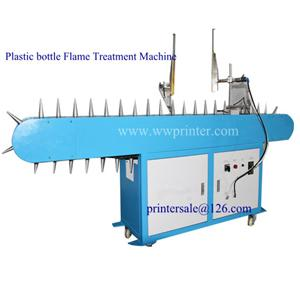 Flame Treatment Machine for Plastic Bottles
