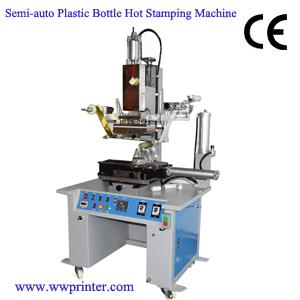 Manual Plastic Bottle Hot Stamping Machine