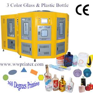 Rotary Glass Container Screen Printing Machine