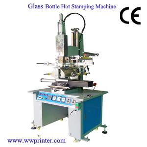 Semi-automatic Glass Bottle Hot Stamping Machine
