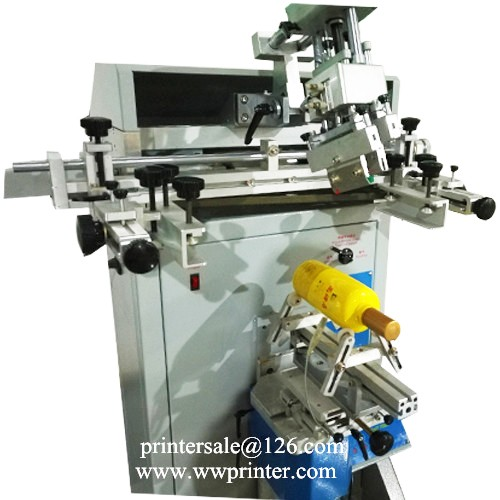 Silk Screen Printer for Plastic Container